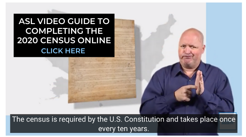 ASL Video Guide to Completing the 2020 Census Online
