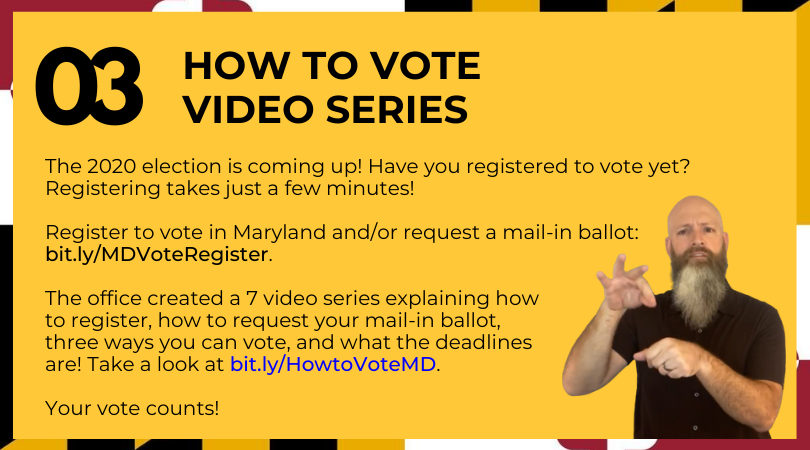 How to Vote Video Series