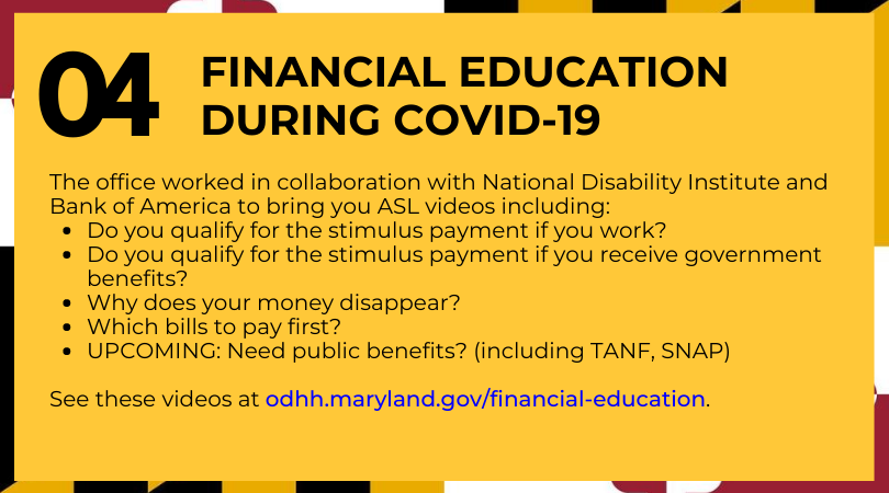 Financial Education During COVID-19