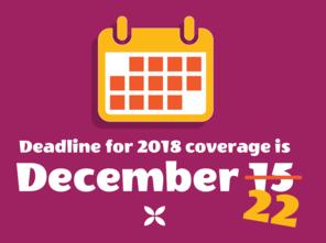 Deadline is now Dec 22