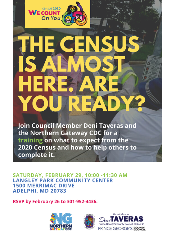 Prince George's County census training