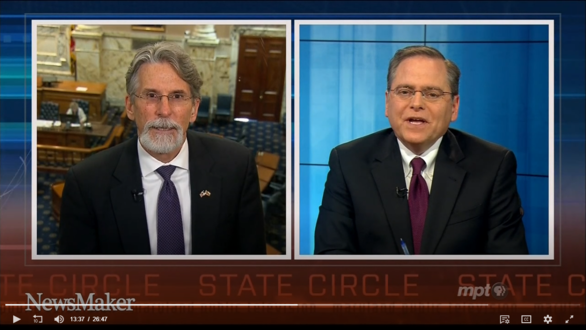 Secretary McCord Talks the Importance of Census on MPT's State Circle