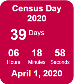 39 Days Until Census Day