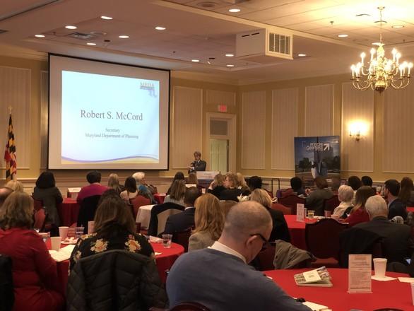 Secretary McCord at Economic Development Day in Annapolis