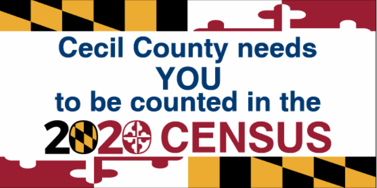 Cecil County wants you to be counted in the Census