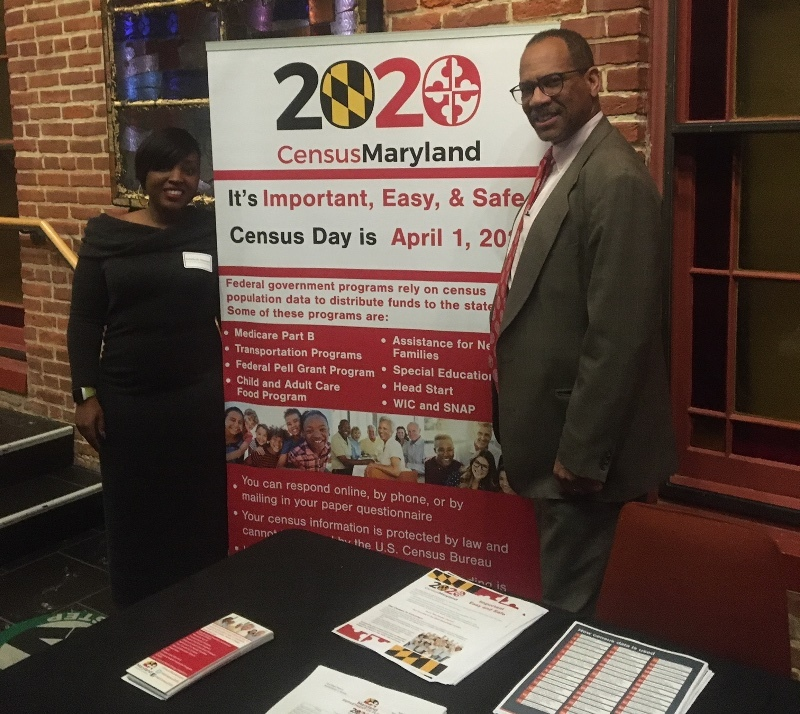 Maryland Planning Team at Banneker-Douglass Museum to Kick Off Promote Maryland Census 2020