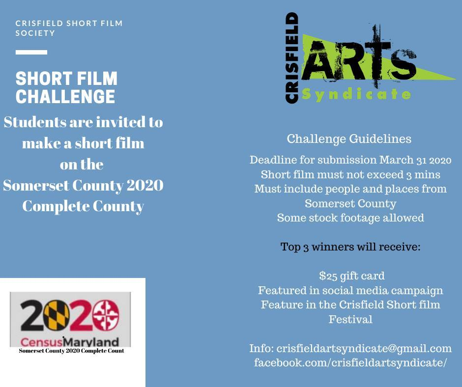 Youth 2020 Census Short Film Challenge in Somerset County