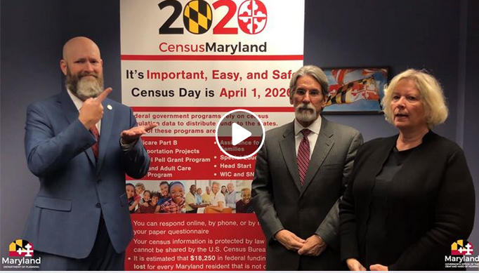 Governor's Office of the Deaf and Hard of Hearing Promote Census Through New Video