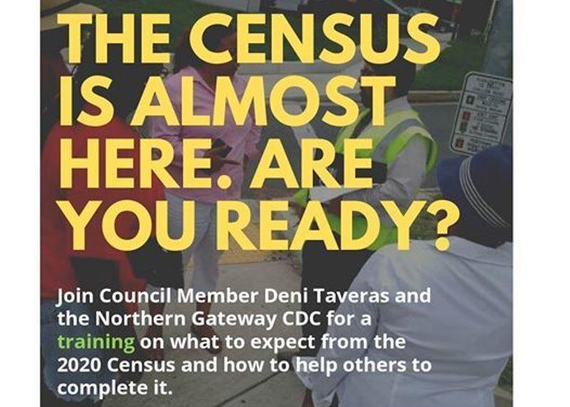 Census training in Hyattsville