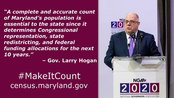 35 days till Census Day 2020.