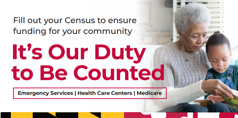 Maryland Department of Aging Releases Census 2020 Flyer for Seniors