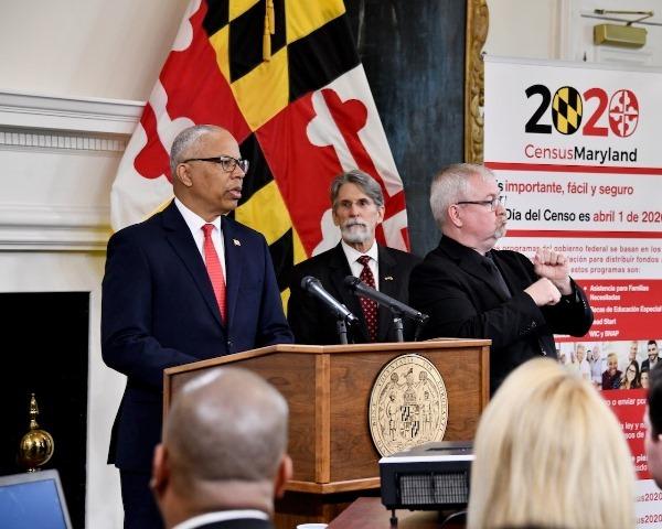 Maryland Census 2020 Kickoff