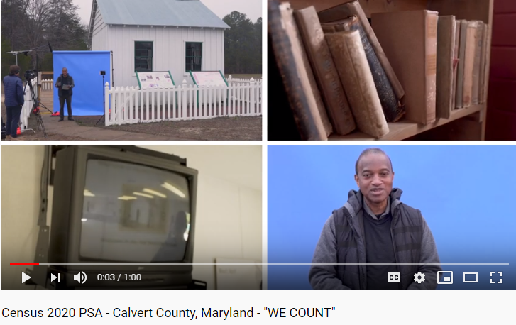 Calvert County Releases Census 2020 Public Service Announcement