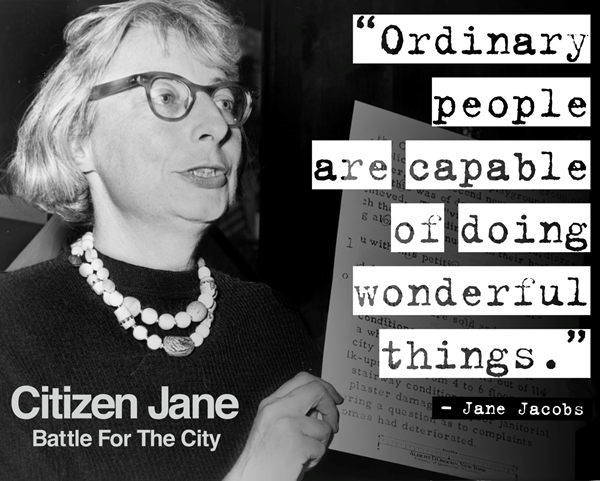 Women in Planning Jane Jacobs