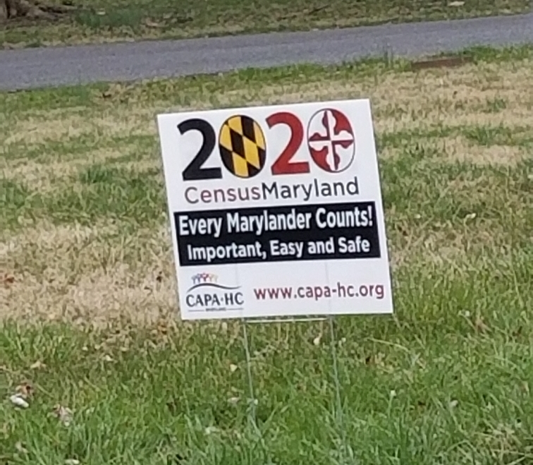 This Yard Sign Was Spotted in Howard County