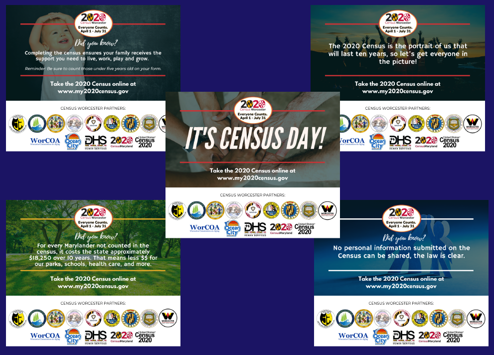 Worcester County Social Media for Census