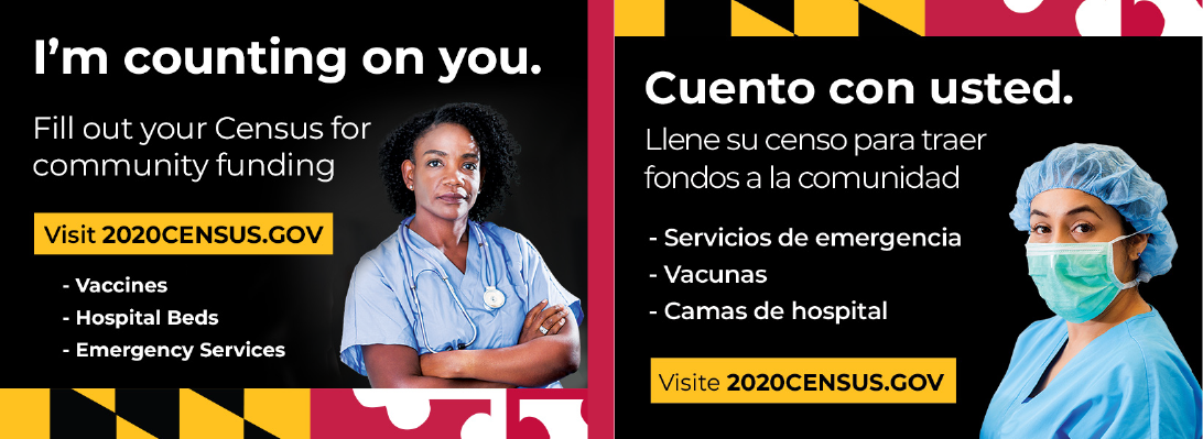 New Digital Ads Make the Connection Between Public Health and Safety and the 2020 Census Results