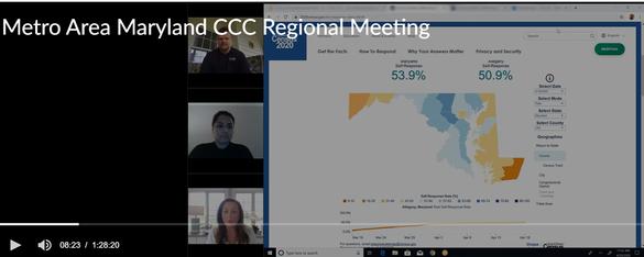 Regional Virtual CCC Meetings
