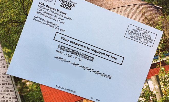 on't Forget to Respond: 2020 Census Reminder Postcards Arriving