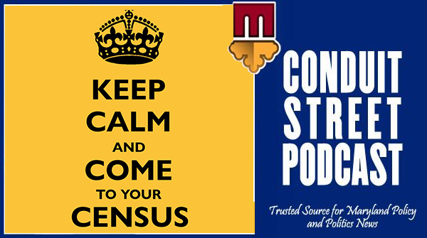 KEEP CALM and COME to Your CENSUS! Secretary McCord on MACo's Conduit Street Podcast