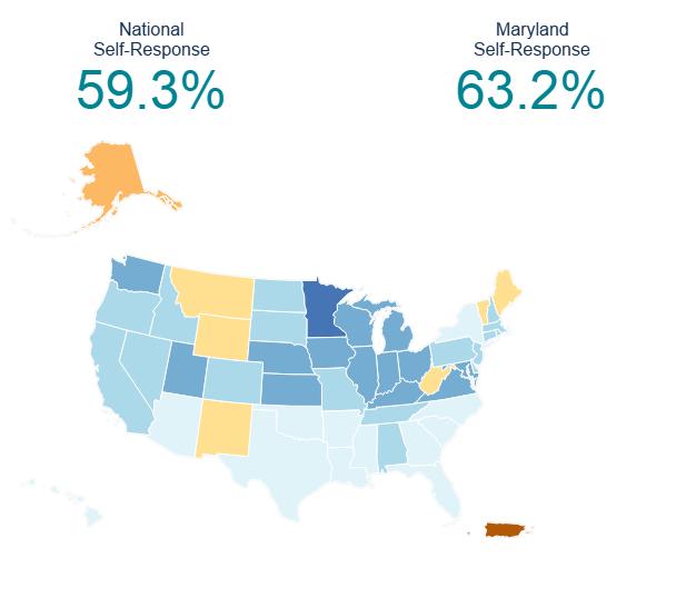 May 15, 2020 Response Rate Map