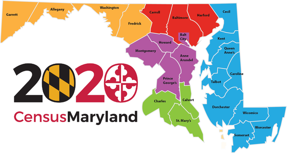 Maryland-County-map-Census-Outreach