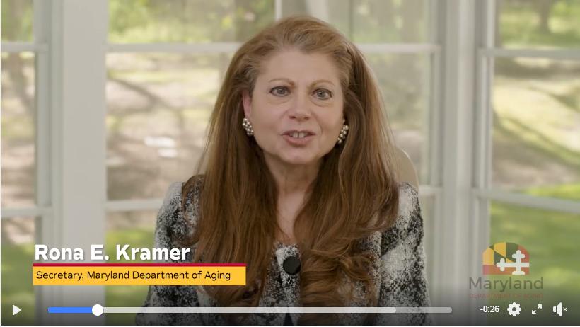 Secretary of Aging Rona Kramer Video