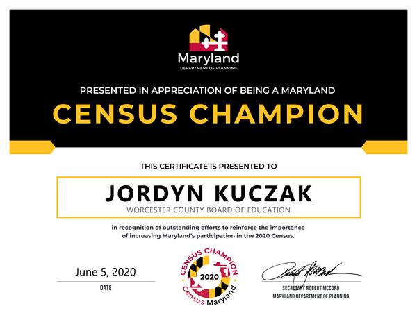 Census Champion
