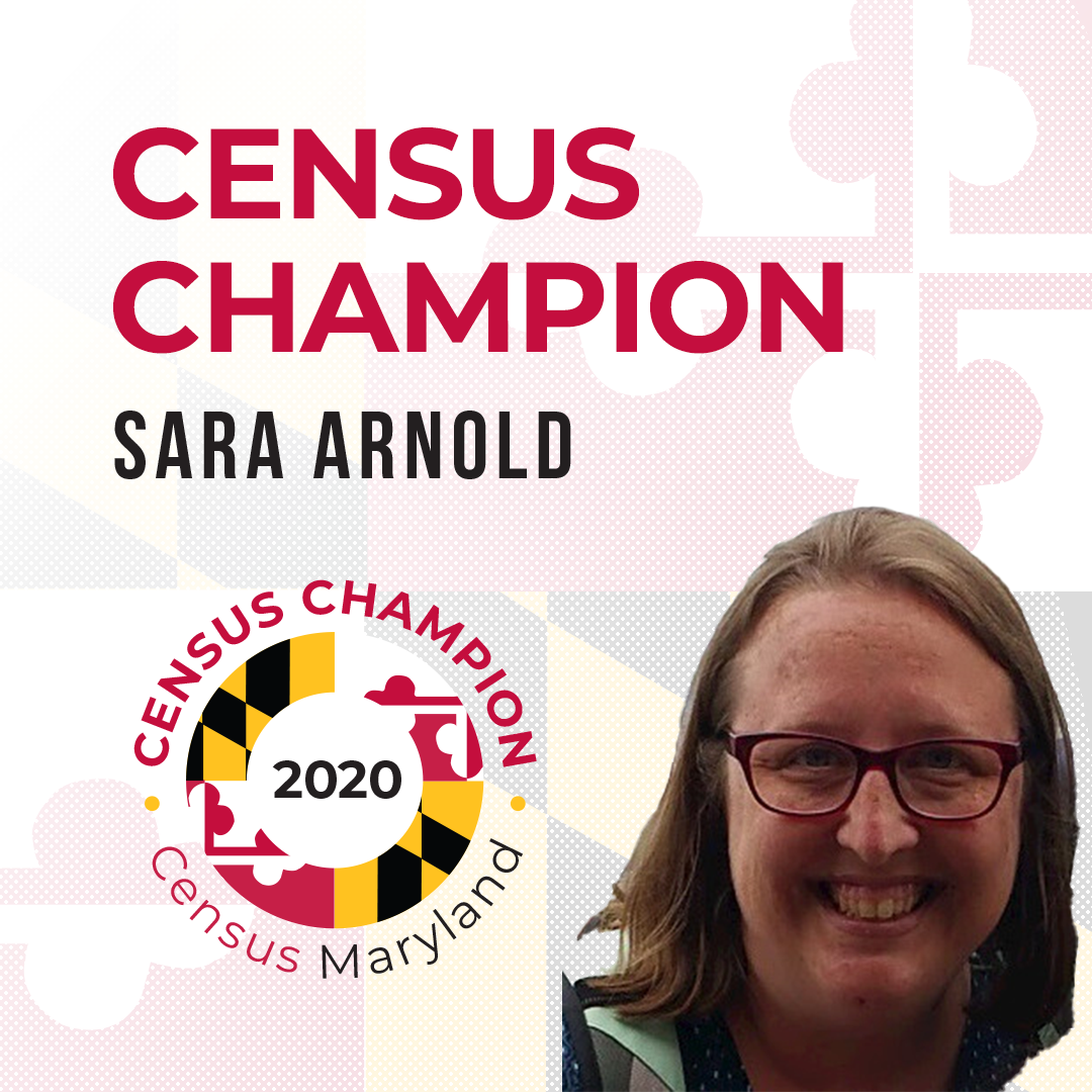 Sara Arnold, Census Champion