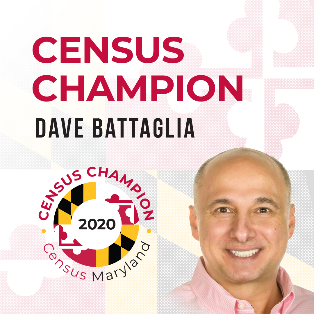 Dave Battaglia, Maryland Census Champion