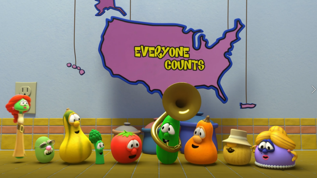 VeggieTales Wants Everyone To Complete the 2020 Census