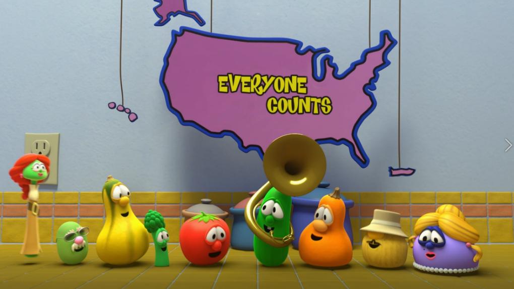 VeggieTales Wants EveryoneTo Complete the 2020 Census