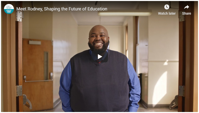 Meet Rodney, Shaping the Future of Education
