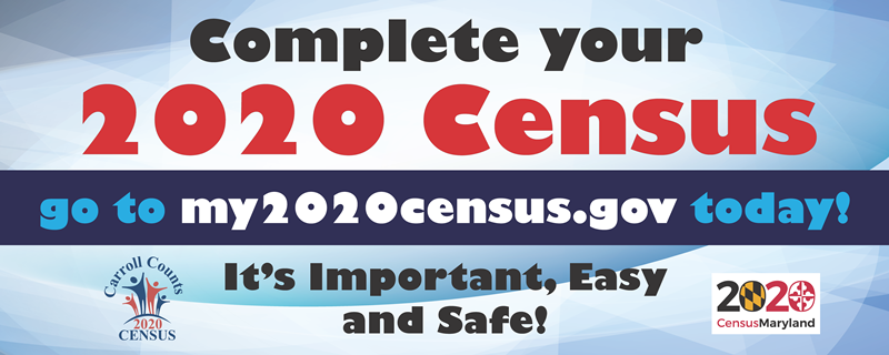 Carroll County Census Banner