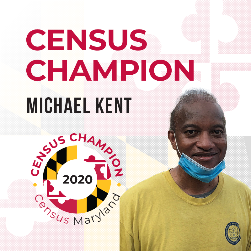 Michael Kent Census Champion