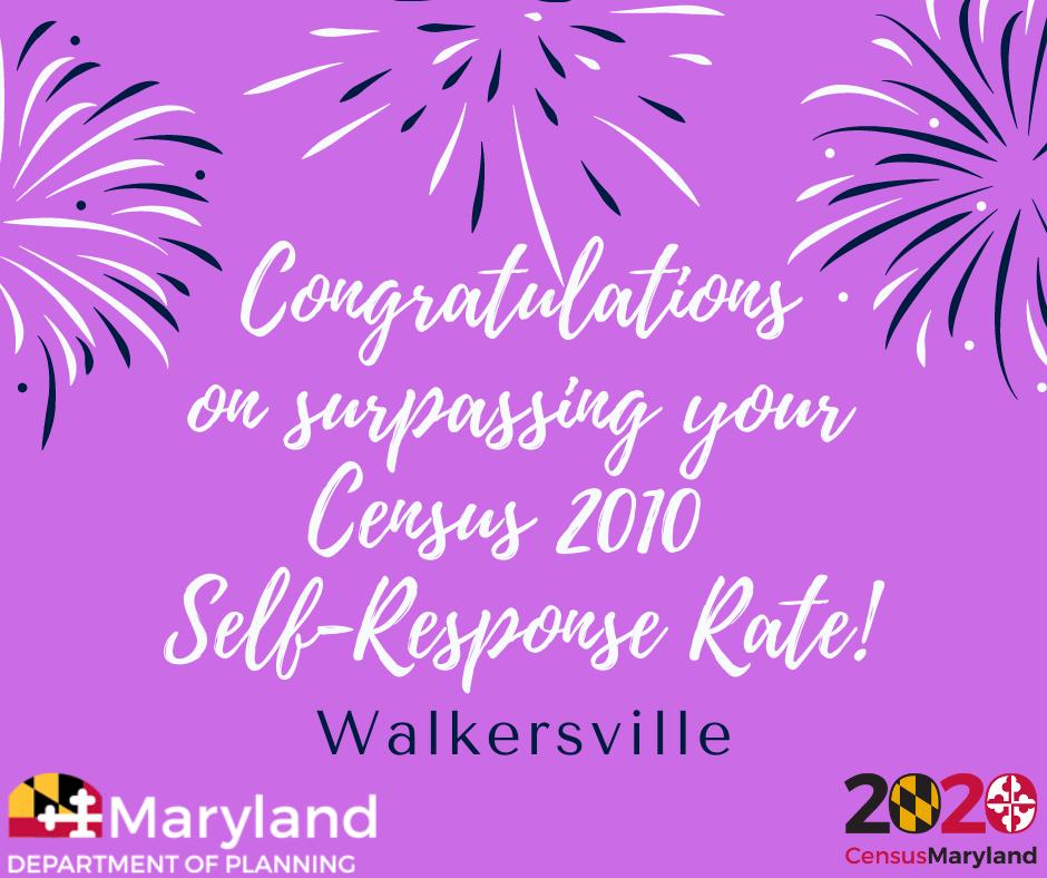 Walkersville-Surpasses-2010-Response-Rate