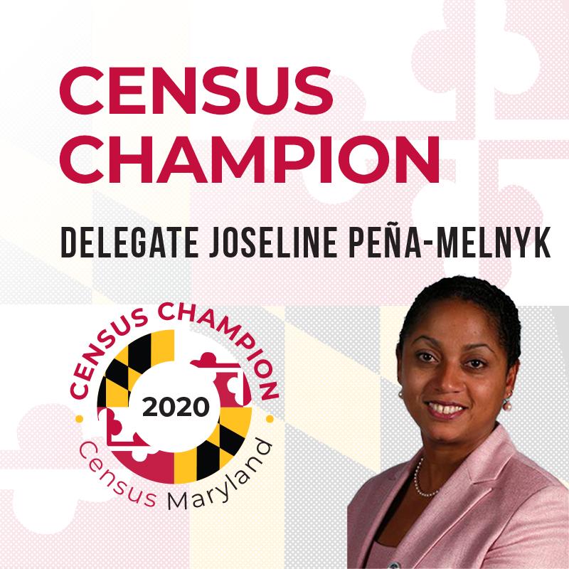 Delegate Joseline Pena-Melnyk