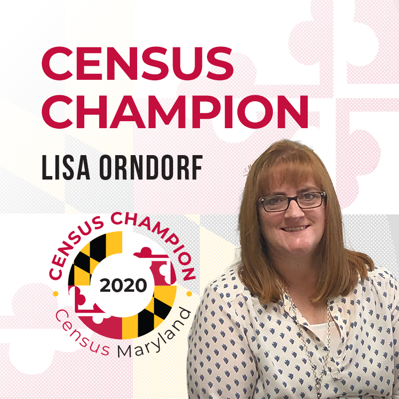 Lisa Orndorf, Census Champion
