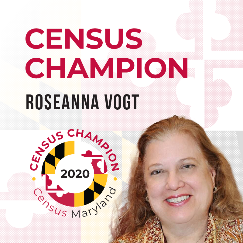 Roseanna Vogt, Census Champion
