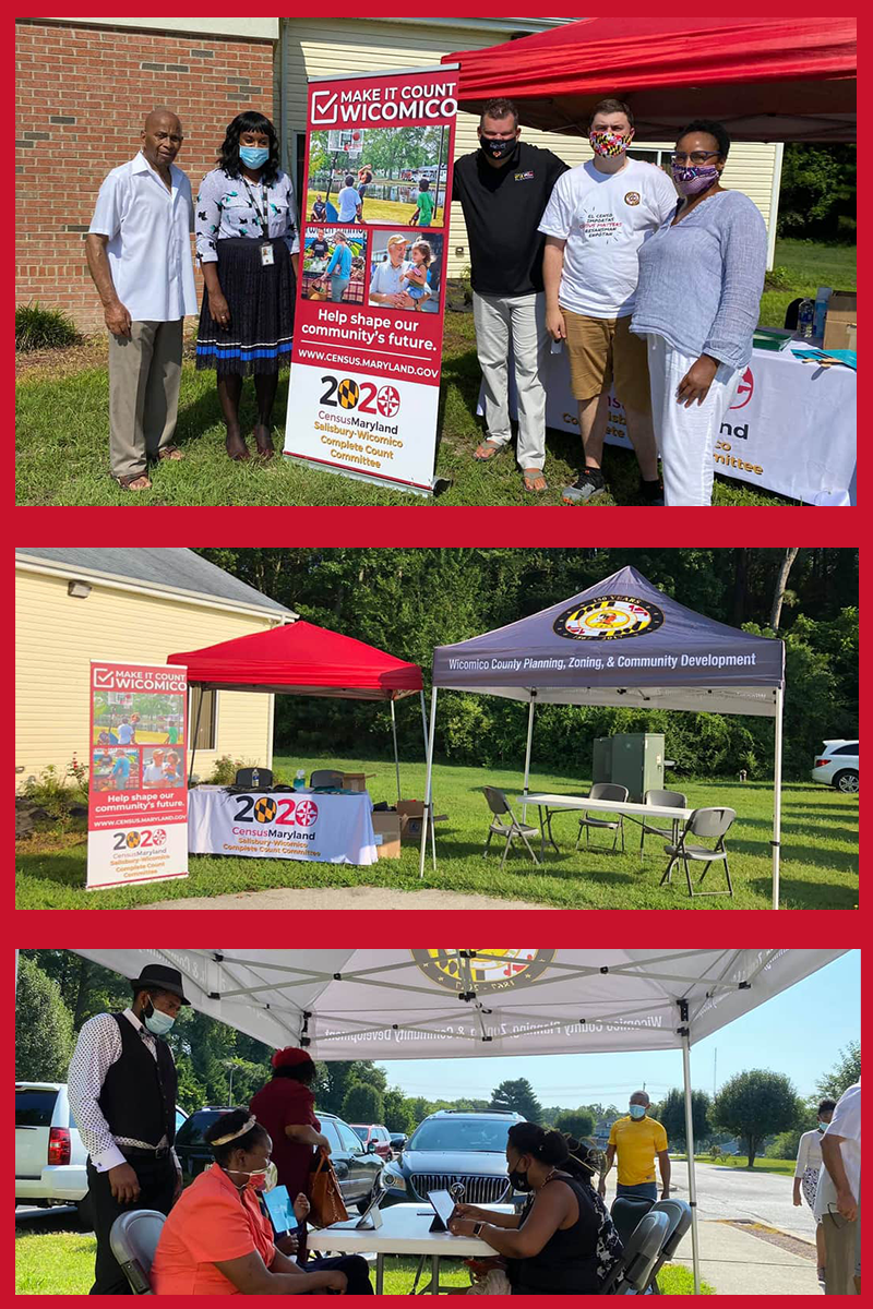 Maryland Department of Planning and the U.S Census Bureau Support Eastern Shore Church During Faith Communities Census Weekend of Action