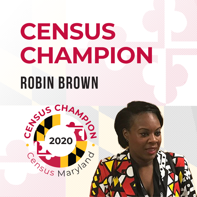 Robin Brown, Census Champion