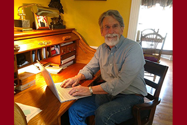 Robert McCord at Desk