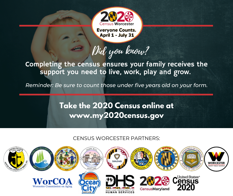 Worcester Counts 2020 Census Ad