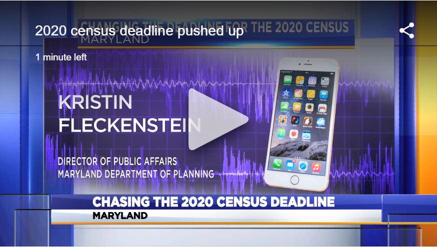 Maryland officials urge residents to fill out 2020 census