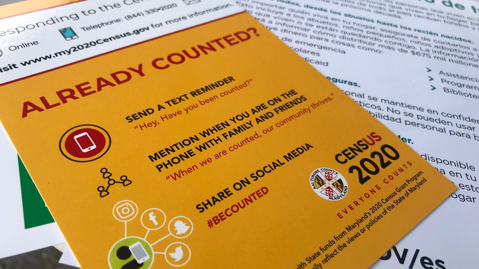 Baltimore County Leaders Remind Residents Importance of Completing 2020 Census