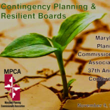 Register for the 37th Annual Maryland Planning Commissioners Association Conference