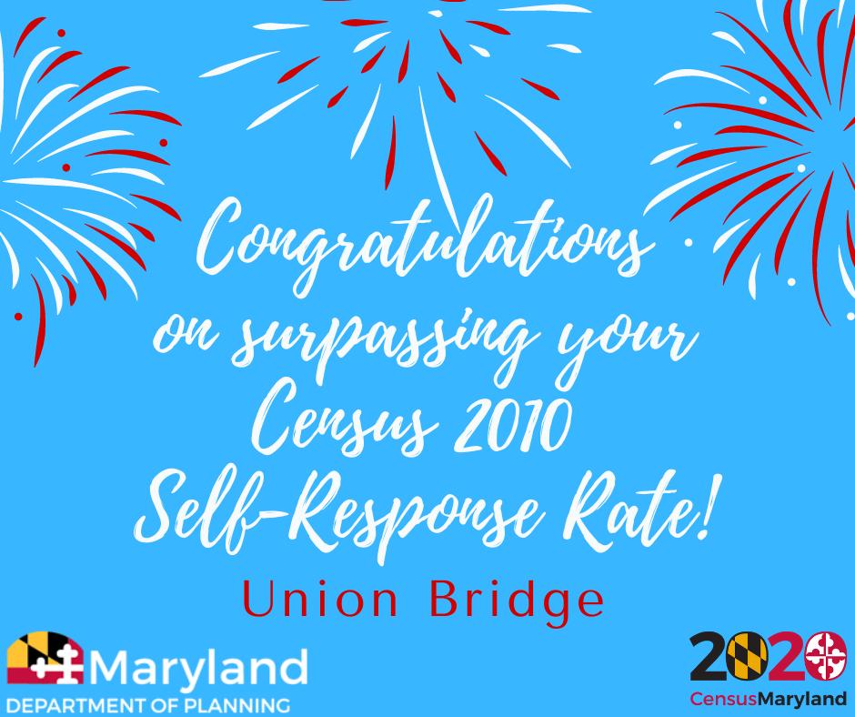 Union-Bridge-Surpasses-2010-Response-Rate