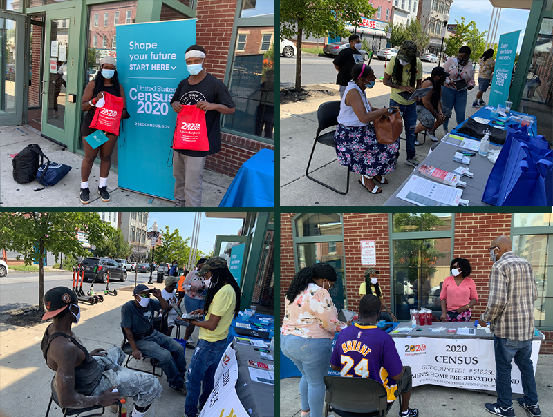 Increasing The Census Count In Baltimore City: The Women's Home Preservation Fund Hold Census Drives in East Baltimore