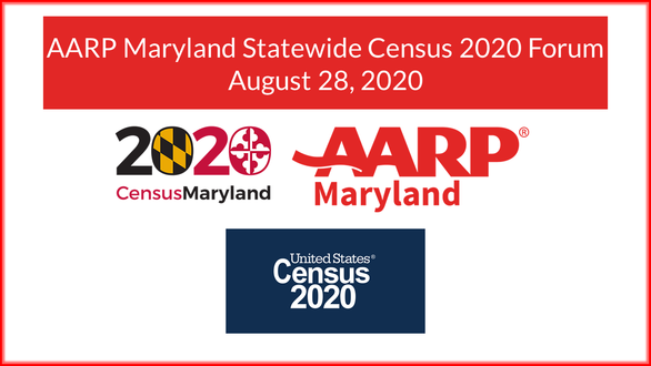 AARP Maryland Statewide Census 2020 Forum