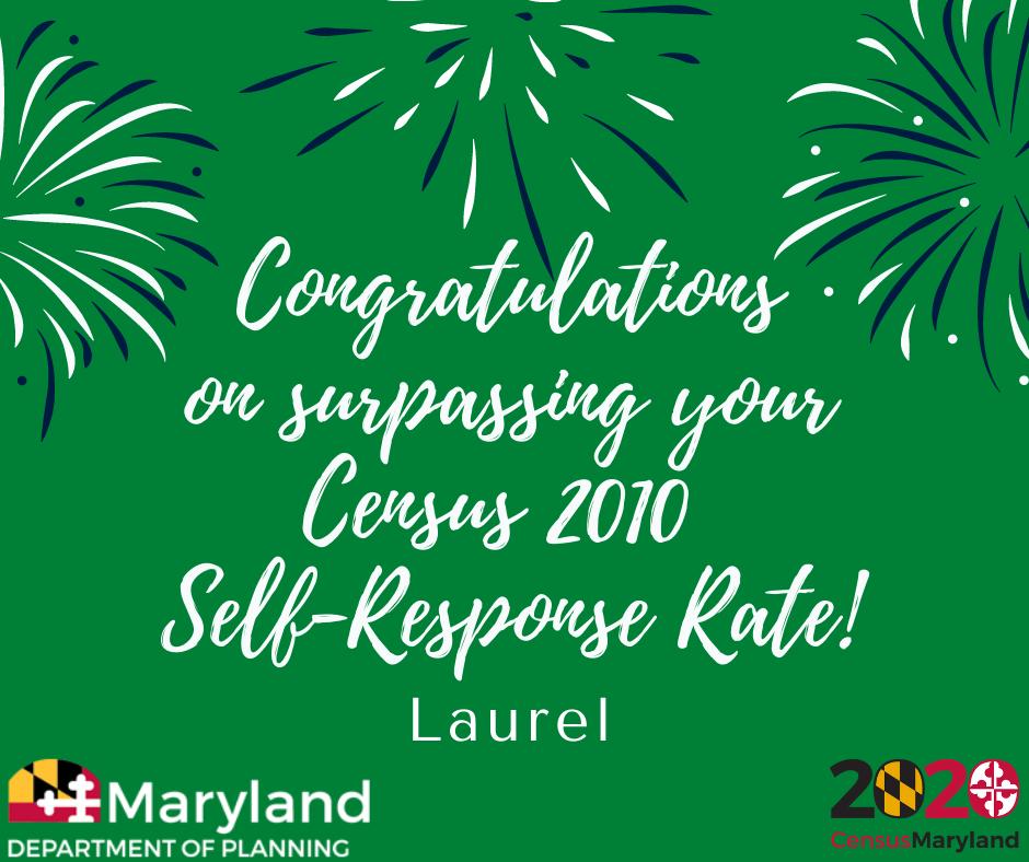 Laurel-Surpasses-2010-Response-Rate